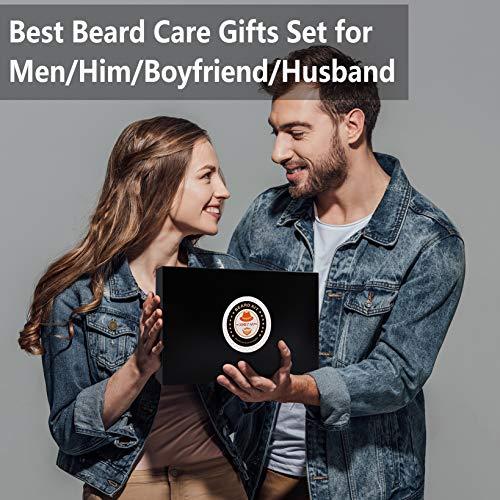 Upgraded Beard Grooming Kit w/Beard Conditioner,Beard Oil,Beard Balm,Beard Brush,Beard Shampoo/Wash,Beard Comb,Beard… 7