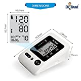 Dr Trust Blood Pressure Monitor Silver Line