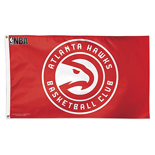 - NBA Atlanta Hawks Flag Deluxe, 3 x 5-Foot