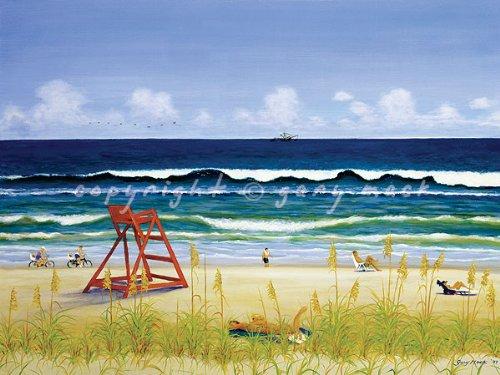 beach-day-poster-by-artist-gary-mack