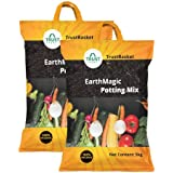 Trust Basket Enriched Earth Magic Potting Soil Fertilizer for Plants (10 kg, Multicolour)