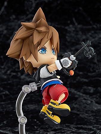 Amazon.com: Good Smile Kingdom Hearts: Sora Nendoroid Action ...