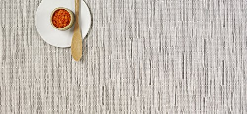 Bamboo Set of 4 Tablemats by Chilewich : R237610 Color Chalk (Chalk Mat)