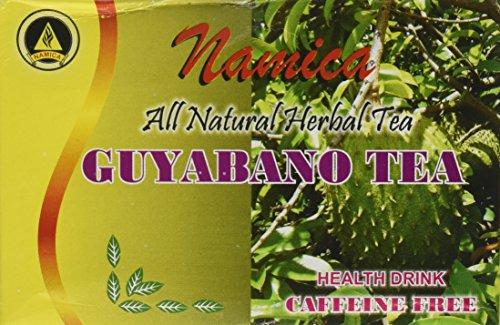 (Namica Guyabano Herbal Tea 100% All Natural Health Drink)