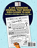 Christian Gratitude Journal for Kids: Daily Journal with Bible Verses and Writing Prompts
