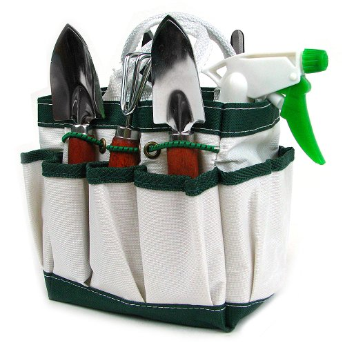 Stalwart 75-1207 7-in-1 Plant Care Garden Tool Set, Indoor and Outdoor