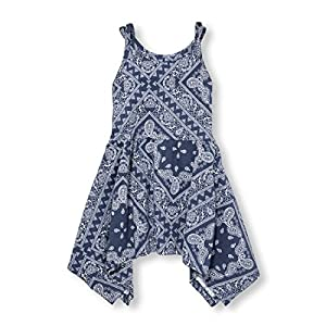 The Children's Place Baby Girls Sleeveless Casual Dresses, S/D EVEBLU 96953, 18-24MONTH