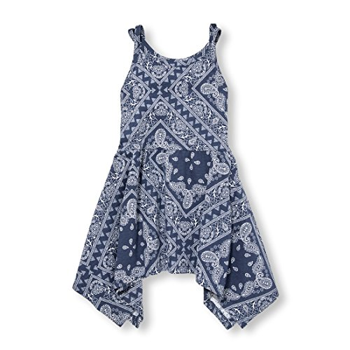 The Children's Place Baby Girls Sleeveless Casual Dresses, S/D EVEBLU 96953, 5T]()