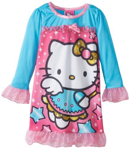 Hello Kitty Nightgown Girls 2-6X Magical Kitty Nightgown