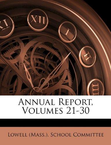 Download Annual Report, Volumes 21-30 pdf epub