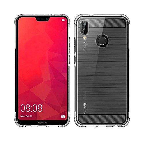 SmartLike Bumper Transparent Back Cover for Huawei P20 lite/Nova 3e