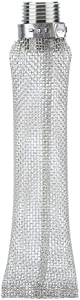 1/2in NPT Stainless Steel Home Beer Brewing Filter Screen Mesh Filter for Homebrew Beer Kettle Mash Tun (1#)