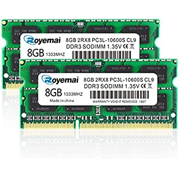Laptop Memory DDR3 1333MHz PC3-10600 RAM L702X 16GB 2X 8GB Dell XPS 17