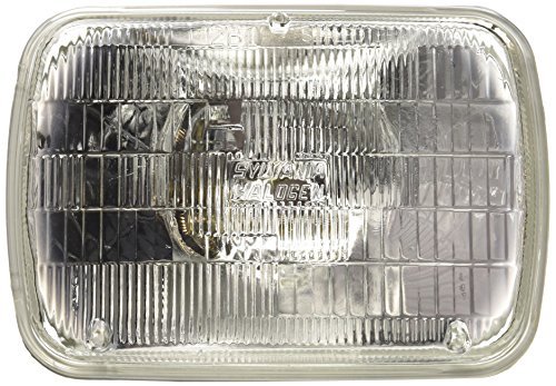 - SYLVANIA H6054 Basic Halogen Sealed Beam Headlight 142x200, (Contains 1 Bulb)