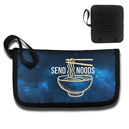 Price comparison product image Send Noods Ramen Noodles Travel Wallet Passport Holder Document Organizer