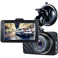 Dash Cam,ViiVor FHD 1080P Dash Cam 3.0 Car Camera Traveling Driving Data Recorder Camcorder Vehicle Camera Night Vision Dashboard Camera With 140 Degree Angle