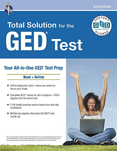 GED Test: REA's Total Solution for the GED Test, 2nd Edition (GED Test Preparation)