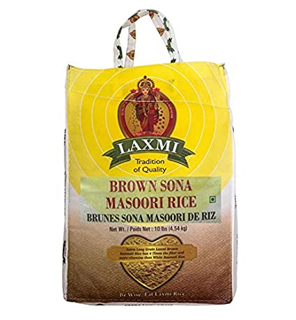Laxmi café Sona masoori Arroz – 10lb: Amazon.com: Grocery ...
