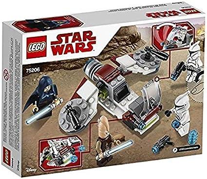 LEGO- Pack de Combate: Jedi y Soldados clon Star Wars TM Classic ...