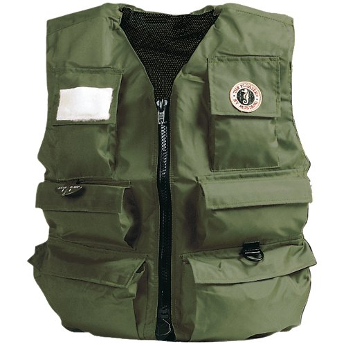 Ol Mustang (MUSTANG SURVIVAL MIV-10-L-OL / Mustang Manual Inflatable Fisherman Vest)