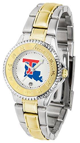 Bulldogs Tech Louisiana Sport Watch (Louisiana Tech Bulldogs Competitor Two-Tone Women's Watch)