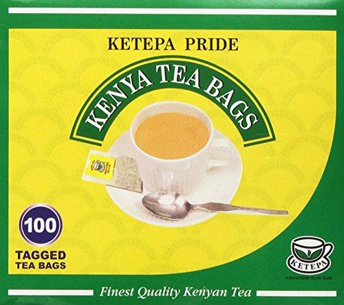 (Ketepa Kenya Tea - Ketapa Pride Tea Bags - 100ct KTDA)