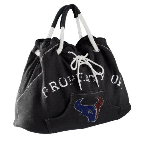 Littlearth NFL Sport Noir Hoodie Tote Geldbörse Houston Texans