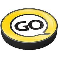 gobadges IP50Go amarillo botón de arranque del motor para Mini Cooper