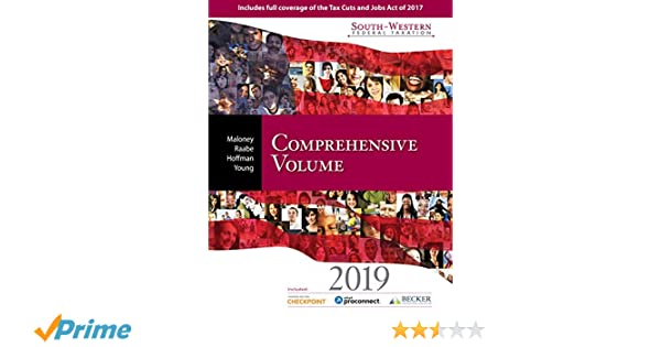 South Western Federal Taxation 2019 Comprehensive With