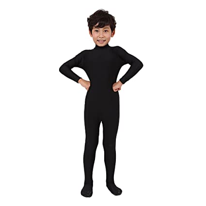 Amazon.com: Homyl Unisex Kids Soft Spandex Mock Neck One ...