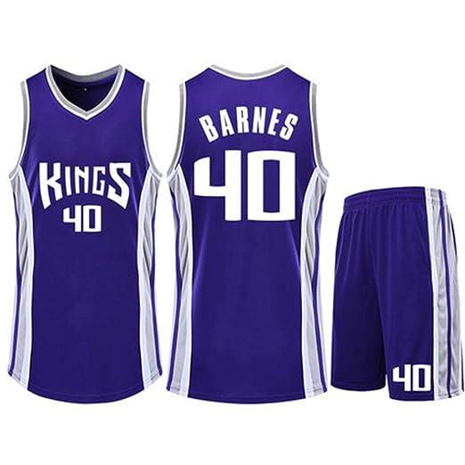 HS-QIAN1 5# Harrison Barnes Sacramento Kings Conjunto De Camiseta ...