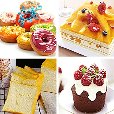 Silicone Bakeware Round Pans Mold Nonstick Pastry Cake Donut Tools Loaf Baking