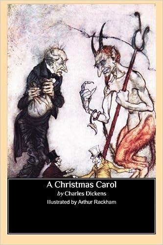A Christmas Carol Illustrated By Arthur Rackham Dickens Charles Rackham Arthur 9781484873243 Amazon Com Books