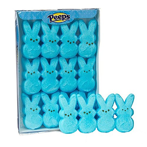 Peeps Marshmallow Candy Bunnies - Blue