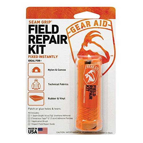 Gear Aid Seam Grip Field Repair Kit with Tenacious Tape Patches