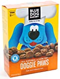 Blue Dog Bakery Natural Low Fat Dog Treats, Peanut Butter and Molasses Flavor Doggie Paws, 10-Ounce Boxes (Pack of 6), My Pet Supplies