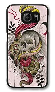 Cobra Skull PC Case Cover for Samsung S6 and Samsung Galaxy S6 Black