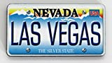Las Vegas Nevada License Plate Wood Fridge Magnet