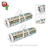 Elf Stor 83-DT5053 1075 Paper Gift Wrap Storage Bag for 31 Inch Rolls | 2 Pack