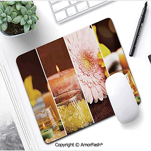 Large Mouse pad with Premium-Textured Cloth,Non-Slip Rubber Base,9.8