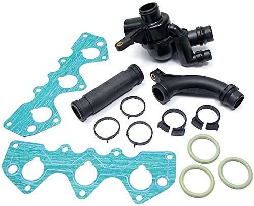 [Complete Thermostat Kit With Gaskets (PEM000030) for Land Rover Freelander] (Land Rover Thermostat)