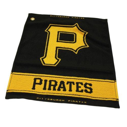 - Team Golf MLB Pittsburgh Pirates Jacquard Woven Golf Towel, 16