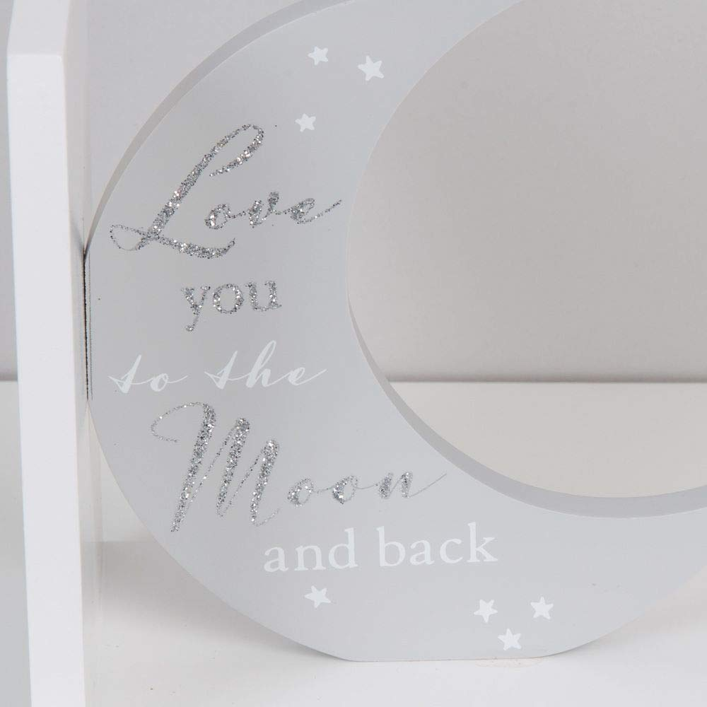 Love You to the Moon...Twinkle Twinkle... Bambino Bookends
