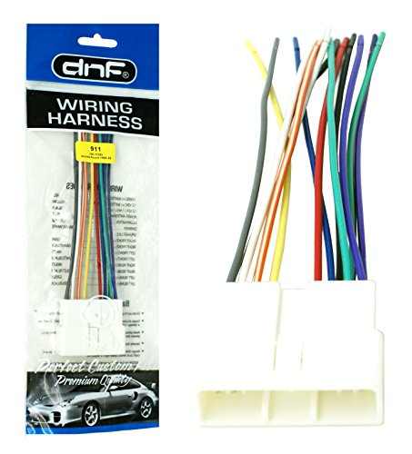 DNF Aftermarket Wire Harness Stereo + Radio Adapter for Select Legend CR-V CRX Vehicles (70-1720) - 100% Copper Wires! ()