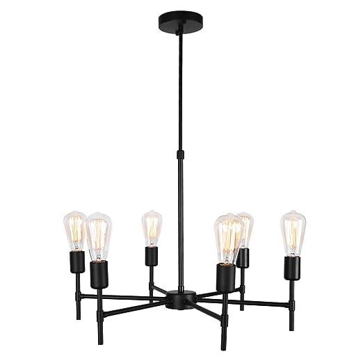 Amazon.com: Lingkai - Lámpara de techo para lámpara de araña ...