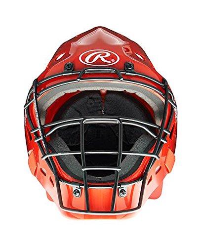 Hockey Style Design Catcher's Helmet, Royal
