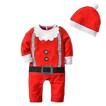 Juego de pijama de algodón para recién nacido, para niños y niñas ...