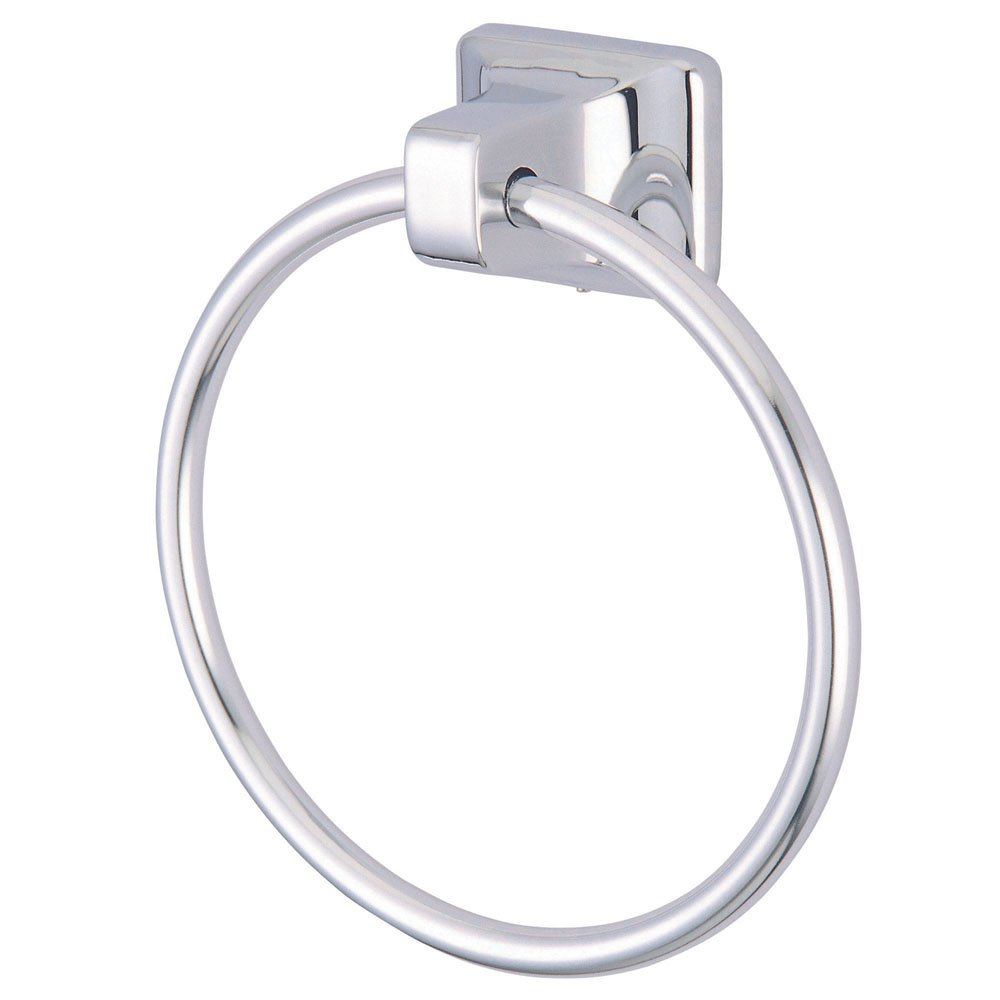 high-quality Kingston Brass BA014C Americana American Towel Ring, 25-5/8-Inch, Polished Chrome