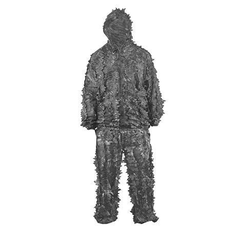 ZMYLOVE Traje de Camuflaje 3D Caza Camuflaje Juego de Tiro con Arco Francotirador Traje de Caza