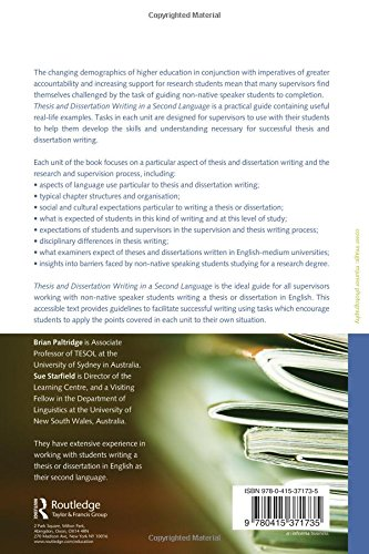 Dissertation writing a practical guide